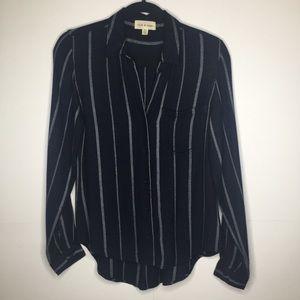 Anthro Cloth & Stone | Striped Button Down (161)